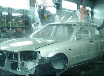 福特汽车RFID制造