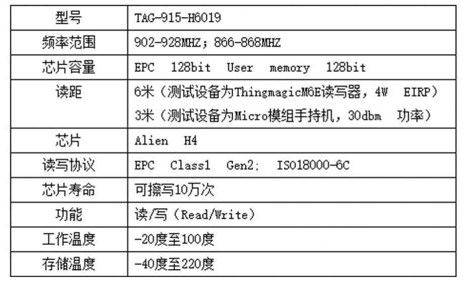 RFID耐高温抗金属标签