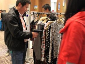 RFID服装零售