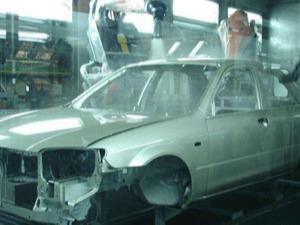 RFID汽车制造