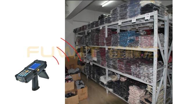 超高频RFID服装供应链管理系统