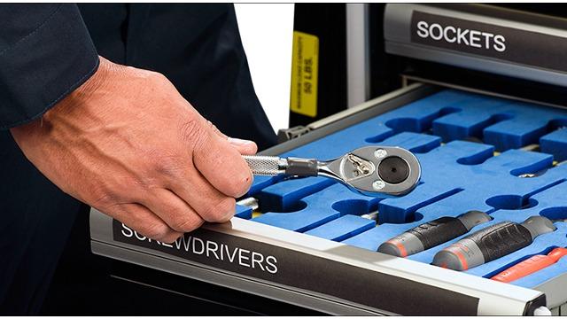 应用于RFID智能工具柜的实时工具管理