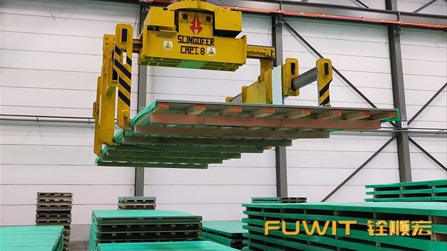 在金属产品的RFID定位管理提升了WMS存储与运输