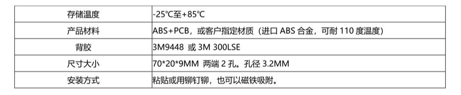 超高频仓储用RFID电子标签TAG-915-M70