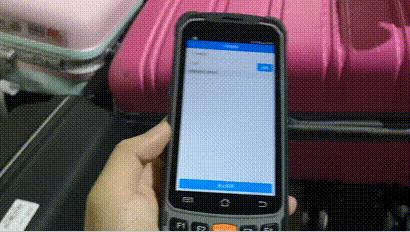RFID行李快速查找-RFID超高频手持机-RFID行李盘点-RFID行李追溯