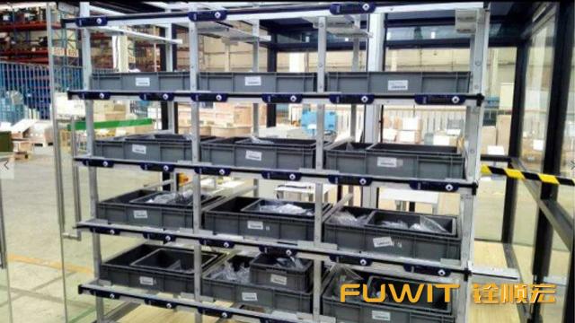 RFID亮灯电子标签,RFID货物拣选,RFID仓储管理