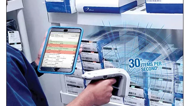 RFID伤口治疗泵自动管理,UHF RFID医疗系统
