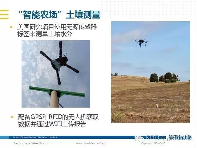 GPS,RFID无人机,RFID传感器标签测量水分
