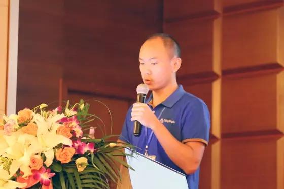 铨顺宏技术经理杨昭明