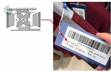 RFID吊牌标签,RFID服装管理